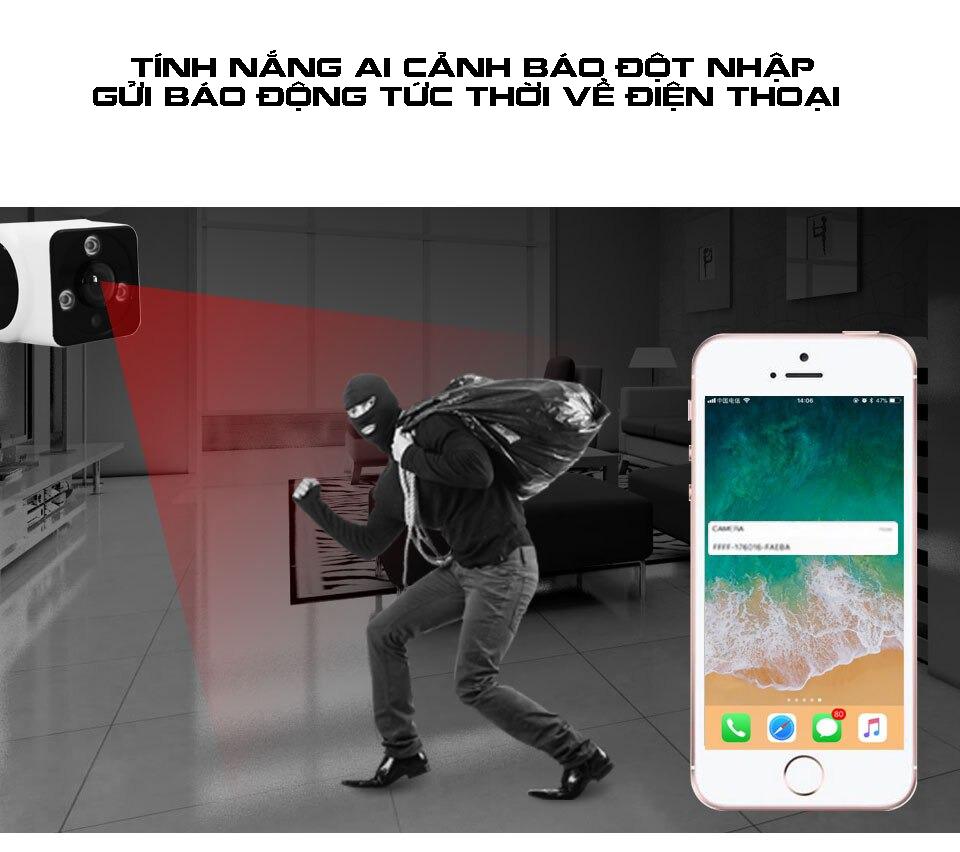 Camera sử dụng Sim 4G AILIFE AI-W911P